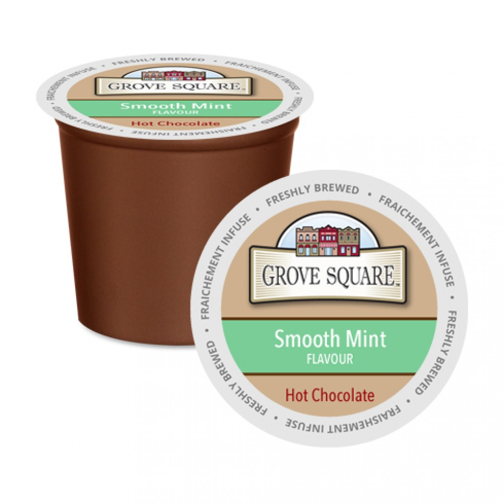 Kcup-Grove Square Smooth Mint Hot Chocolate 24pk – Daily ...